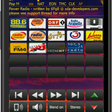 Power Radio – FM Player with RDS Decoding
