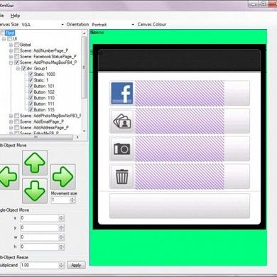 XmlGui 0.0.5 – Tool for Editing HTC XML Layout File