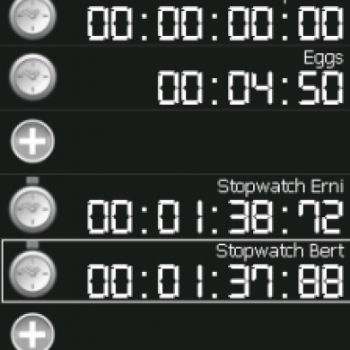 Stop Watch and Timer All In One