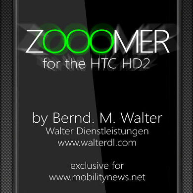 "Zooomer enables ""Pinch to Zoom"" for HTC HD2"