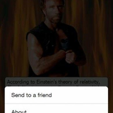Chuck Norris Facts App Finally Comes to Windows Mobile