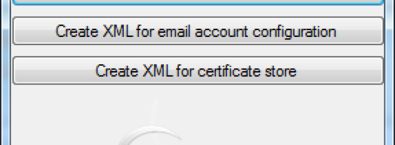 XML Creation Tool