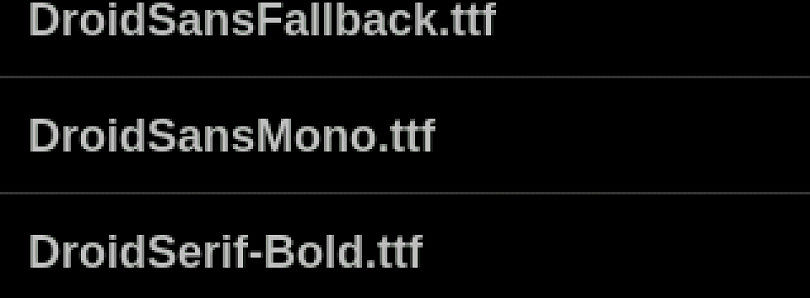 Type Fresh – Change Fonts on your Rooted Android Device