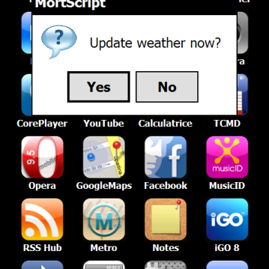 [MortScript] IPTWeather: AccuWeather, My Location/Latitude, iPhoneToday/S2U2