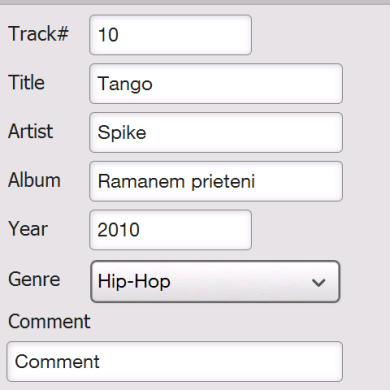 Great Music Management System: MP3 Tag Editor