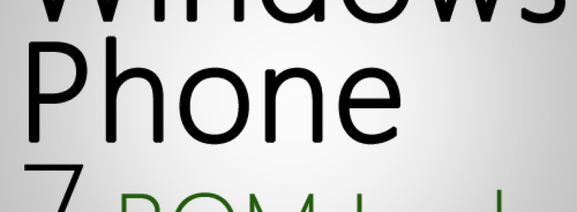 New Update on the Windows Phone 7 ROM Leak