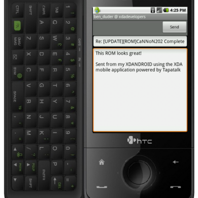 XDAndroid for Touch Pro and Diamond Updated to Eclair 2.1