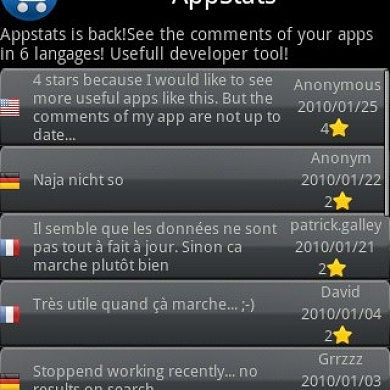 Keep Track of Comments on your App with AppStats