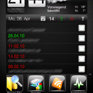 Advanced Home Tab 2.2.3