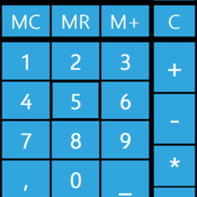 Metro Calculator, WP7 Style