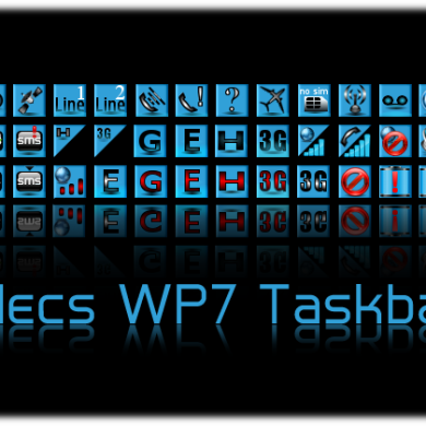 Alecs Windows-Phone-7 Taskbar