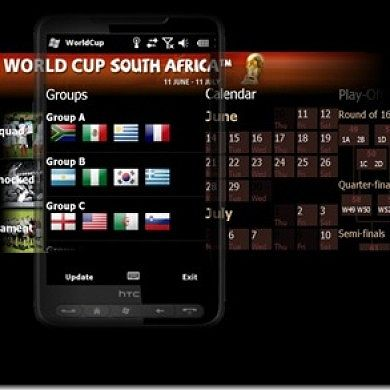 World Cup 2010 WP7 Style Application