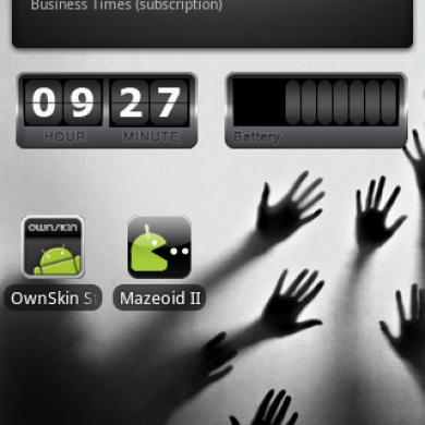 Create your Own Live Wallpaper with Ownskin UGC