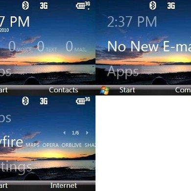 Smartphone Revitalize Sliding Panel Theme
