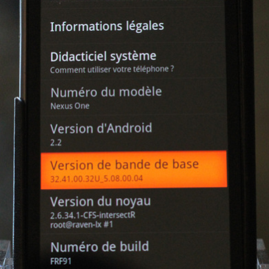 New Nexus One Radio Leaked from Korean ROM