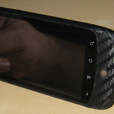 Carbon Fiber Home Made Skin for Nexus One