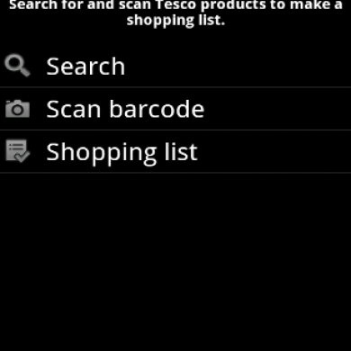 Paperless List UK Tesco App
