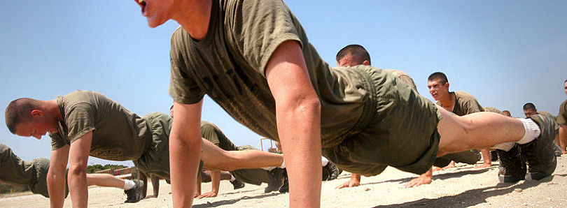 Get Fit with 100 Pushups for WM