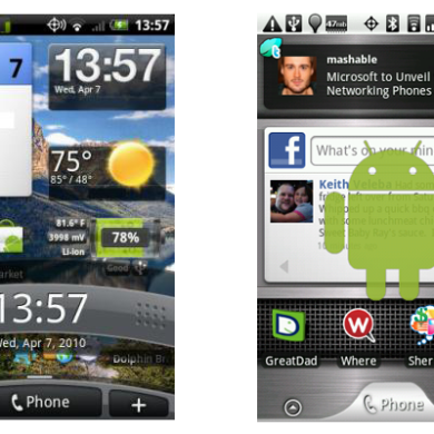 Transparent Lock Screen Hack for Droid Eris and Hero CDMA
