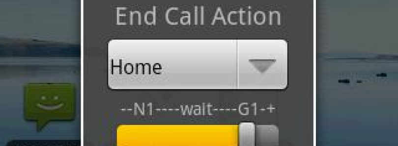 Not Call Log – Set Default End Call Action
