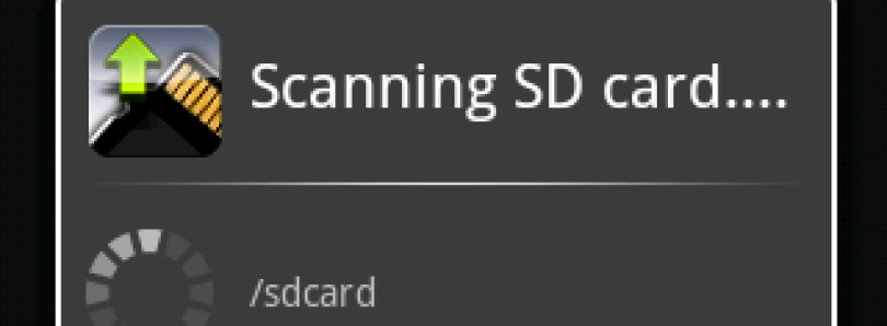 Stop Media Scan on Boot & Scan on Demand with Rescan Media