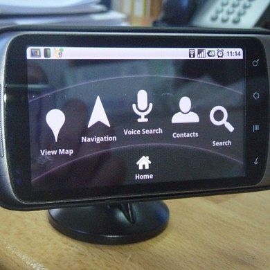 Home Made Nexus One Car Holder