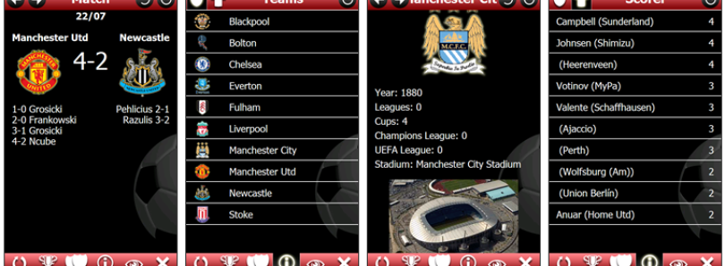 Follow Your Team with Premier League Pocket 2010