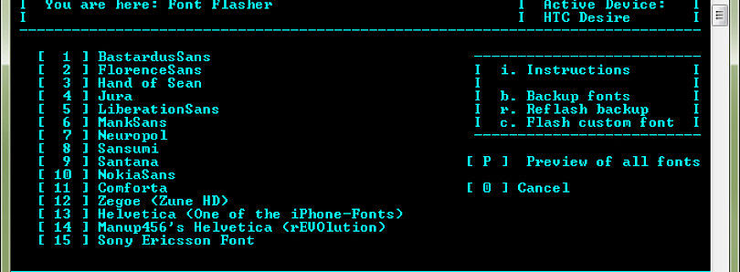 Font Flasher for Android Updated
