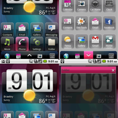 ADW Slide Themes for Android