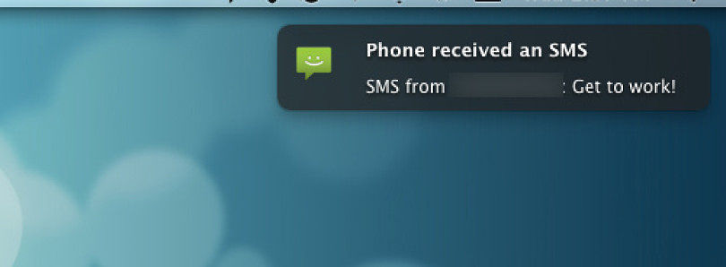 Android Notifications to Your Desktop