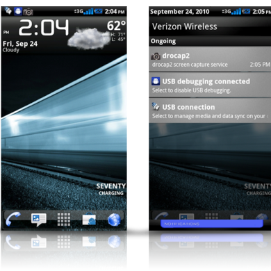 List of Themes for your Shiny New Droid 2