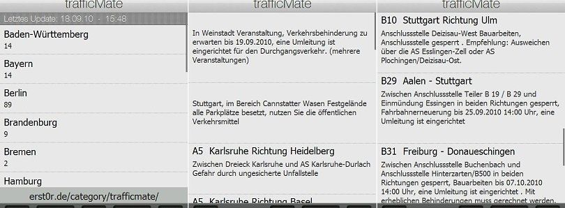trafficMate App for Germany Available
