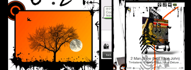 Orange Street Theme for HTC Sense Released