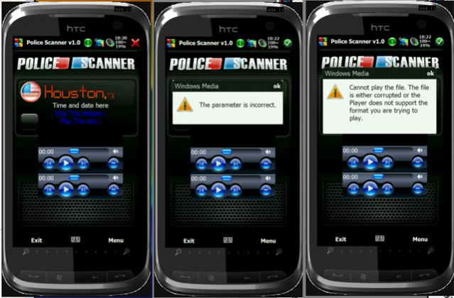 Police Scanner App for WM in Development