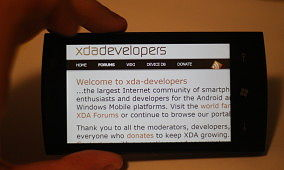 XDA Exclusive: Hands on With Windows Phone 7