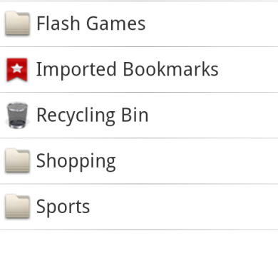 Organize your Bookmarks Using My Home Page