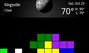 Tetris Live Wall Paper for Android