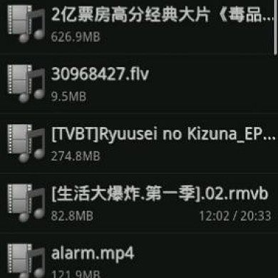 VPlayer for Android: Divx, .Avi, .Mkv, and More Supported!