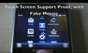 Windows Mobile 6.5.3 Ported to First Non-Touchscreen Device