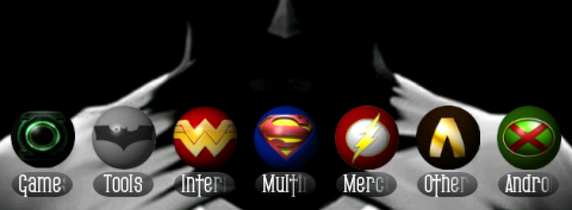 Justice League of America Icons for Android