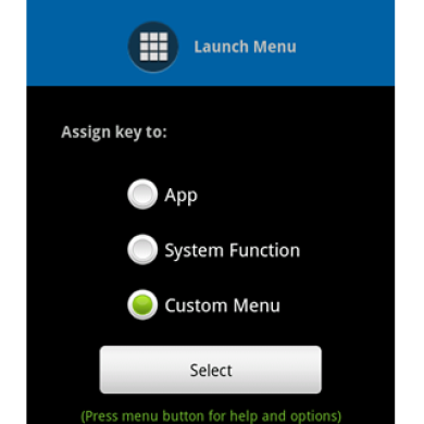 Assign functions to your phone's Search key