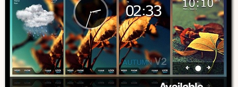 Themes WinDroid V2 Autumn for WM Update