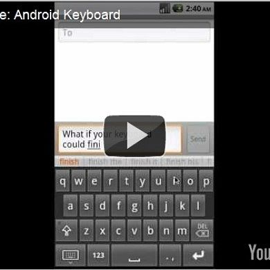 Finish Your Messages Typing Only a Few Letters – Scrybe for Android