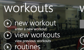 DeekFit Gym for WP7
