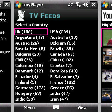 myPlayer – Live TV / On Demand streaming updated WM/Android