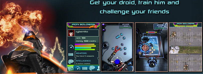 Train Your Droid with Iron Soldiers for Android