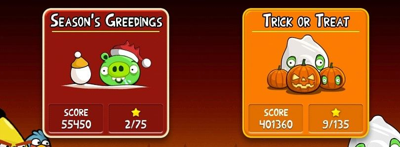 Angry Birds for the Seasons!