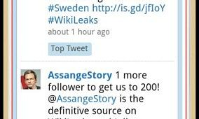 WikiLeaks App Available for Android