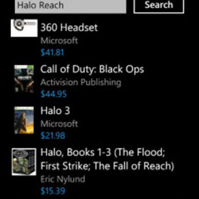 Store on the GO for Windows Phone 7