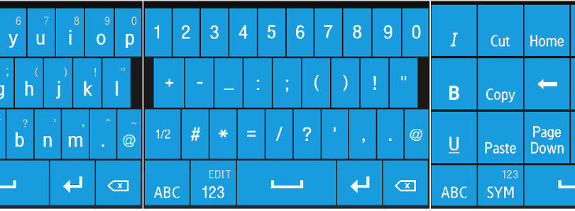 Windows Phone 7 Swype Skins for Windows Mobile
